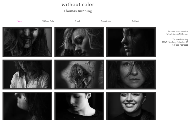 Without color – Why ?